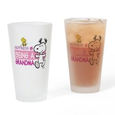 Happiness is being a Grandma Drinking Glass