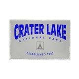 Crater Lake NP Rectangle Magnet (100 pack)