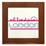 London city Framed Tile