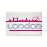 London city Rectangle Magnet (100 pack)