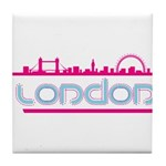 London city Tile Coaster