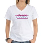 London city Women's V-Neck T-Shirt