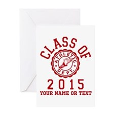 Class of 2015 Track Greeting Card