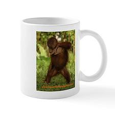 BOS Mug with break-dancing orangutan!