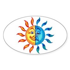BiPolar Solar Oval Decal