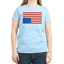 Upside Down USA Flag T-Shirt