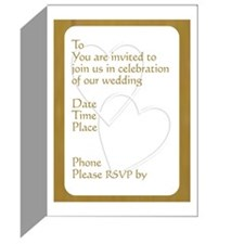 Wedding Invitations (Pk of 20)
