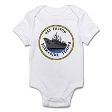 USS Fulton (AS 11) Infant Bodysuit