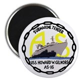 USS Howard W. Gilmore (AS 16) Magnet