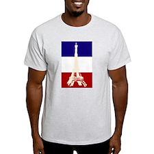 Eiffel Tower French Flag T-Shirt