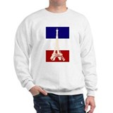 Eiffel Tower French Flag Jumper