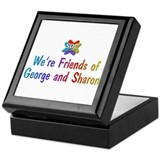 George and Sharon Products Keepsake Box