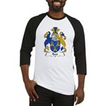 Roos Family Crest Baseball Jersey