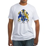 Roos Family Crest Fitted T-Shirt