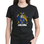 Roos Family Crest Women's Dark T-Shirt