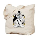 Rolfe Family Crest Tote Bag