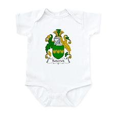 Roderick Family Crest Infant Bodysuit