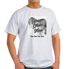 CUSTOM Photo and Caption T-Shirt