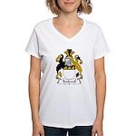 Rockwell Family Crest Women's V-Neck T-Shirt