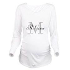 Monogram Initial And Name Personalize It! Long Sle