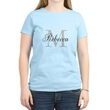 Monogram Initial And Name Personalize It! T-Shirt