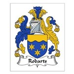 Robarts Family Crest Small Poster