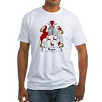Roan Family Crest Fitted T-Shirt