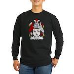 Roan Family Crest Long Sleeve Dark T-Shirt