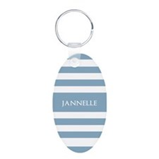 Personalized Name Light Sky Keychains
