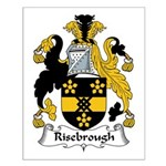Risebrough Family Crest Small Poster