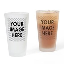 CUSTOM Your Image Drinking Glass
