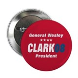 "WESLEY CLARK PRESIDENT 08 2.25"" Button (100 pack)"