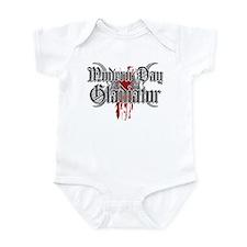 Modern day gladiator Infant Bodysuit
