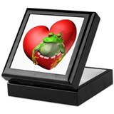 Frog Heart Keepsake Box