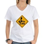 Cobra X-ing Women's V-Neck T-Shirt