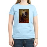 Lincoln-Black Pug Women's Light T-Shirt