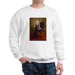 Lincoln-Black Pug Sweatshirt