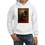 Lincoln-Black Pug Hooded Sweatshirt
