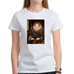 The Queen's Black Pug Women's T-Shirt