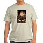 The Queen's Black Pug Light T-Shirt