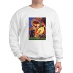 Mandolin Angel / Black Pug Sweatshirt