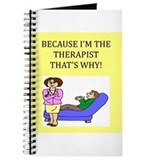 therapist gifts t-shirts Journal