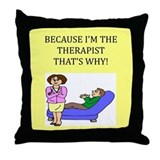 therapist gifts t-shirts Throw Pillow