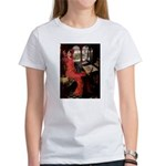 Lady / Black Pug Women's T-Shirt