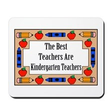 The Best Teachers Are Kindergarten Teachers Mousep
