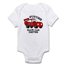 Future Race Car Driver Cute Baby Boy bodysuit