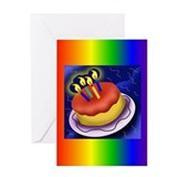 Cute Glbt Greeting Card