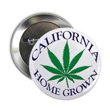 California Home Grown Button