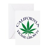 California Home Grown Greeting Card