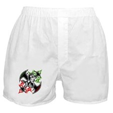 Italian Stallion Tribal Design Boxer Shorts